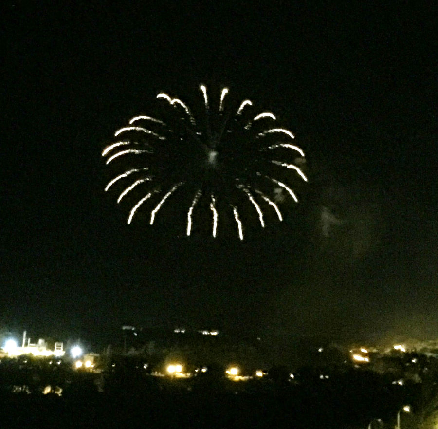 Fuegos Santiago 2