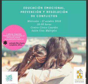 Charla de Educación Emocional en Tudela