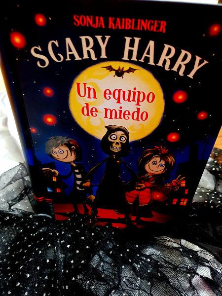 libros, niños, halloween, edelvives, scary harry