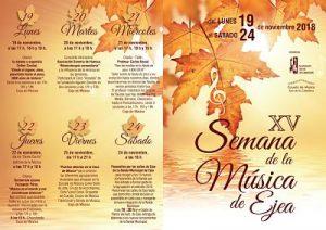 Cartel Semana de la Música en Ejea