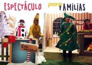Cartel ciencia en familia navidad zaragoza