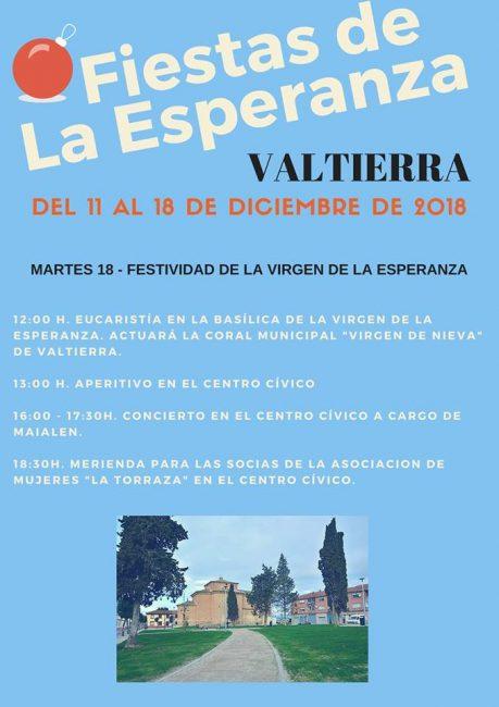 Celebración del Día de la Esperanza en Valtierra 2018
