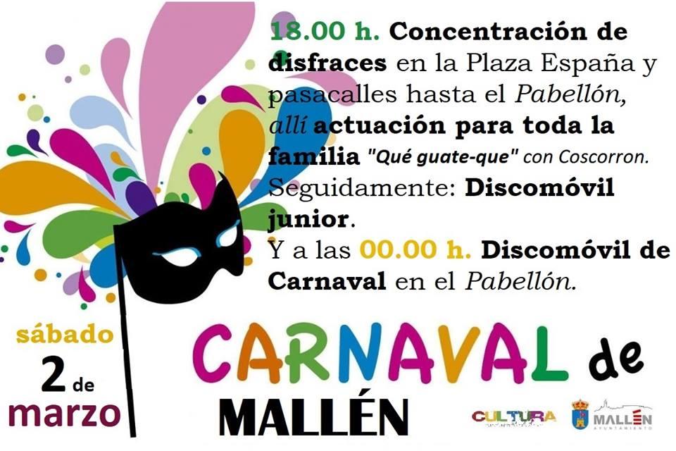 CARNAVAL MALLÉN 2019