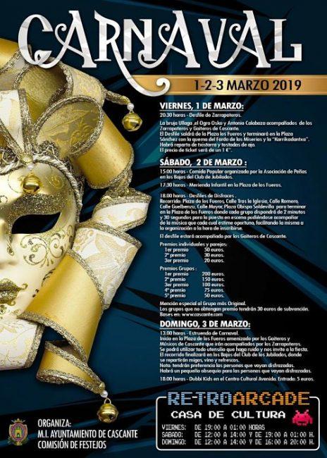 Carnaval, Cascante 2019
