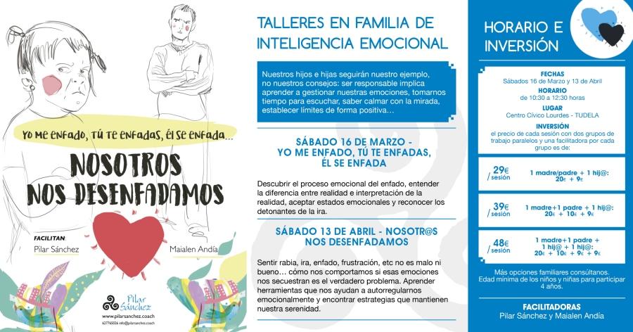 Taller inteligencia emocional familias nos desenfadamos Pilar Sánchez Tudela