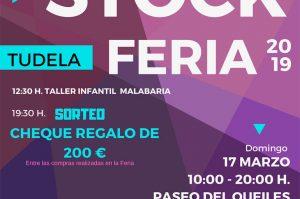 Cartel Feria Stock Tudela marzo 2019