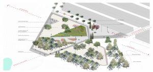 Inaguración parque Mirador las Bardenas en Ribaforada