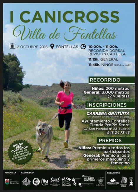 Canicross Fontellas
