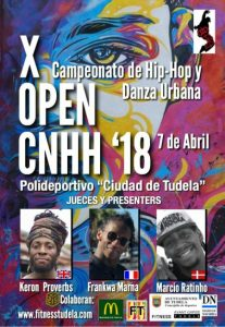 Open nacional de hip hop Tudela 2018