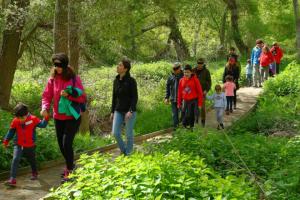 Actividades con niños La RiojaPequeños rastreadores de Los Sotos.