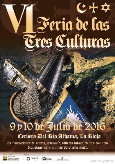 VI Feria tres culturas Cervera del Río Alhama