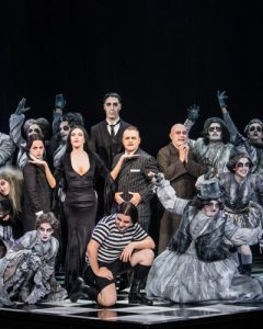 familia Addams en Zaragoza