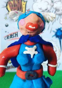 taller de superhéroes en 3D