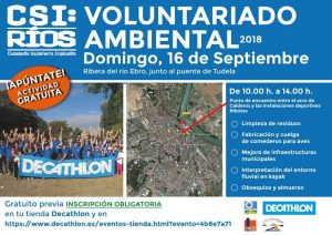 voluntariado ambiental Ebro